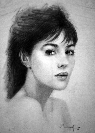 Monica Bellucci par marius